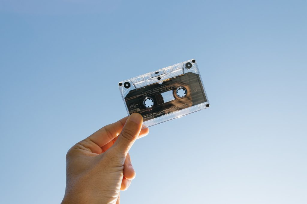 Image of tiny cassette